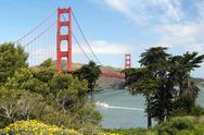 Stock Photo of Usa, California, San Francisco, Golden Gate Bridge