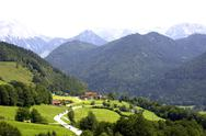 Stock Photo of Europe, Germany, Bavaria, ' Deutsche Alpenstrasse', ramsau area