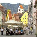 Stock Photo of Europe, Germany, Bavaria, 'Deutsche Alpenstrasse ', Fussen city