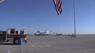 Stock Video Footage of Space Shuttle Endeavor Visits Biggs Army Airfield