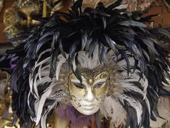 carnival masks - stock photo