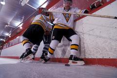 Ice hockey competition, men Stock Photos