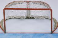 Stock Photo of Ice hockey equipment: goal