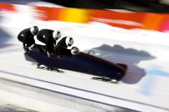 Bobsledding Stock Photos