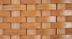 Rustic basket weave Stock Photos
