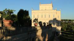 Villa Doria Pamphili in Rome 11 Stock Footage