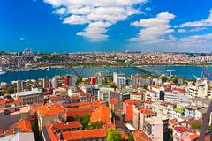 Golden Horn in Istanbul Stock Photos