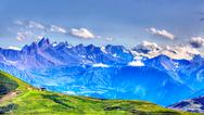 Stock Photo of Alpine landscape
