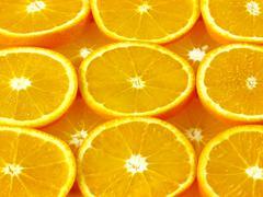 orange slices - stock photo