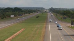 N1 Highway North South Africa Real Time NTSC - stock footage