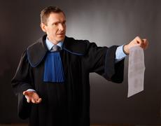 attorney - stock photo