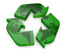 Stock Illustration of symbol of recycling