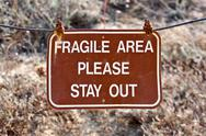 Stock Photo of fragile area