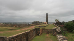 Galle Fort, Galle Stock Footage