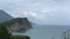 Coast of Montenegro Stock Footage