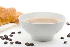 cafe au lait - stock photo