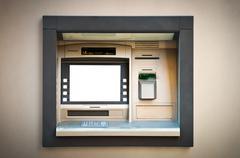 Pankkiautomaatti Kuvituskuvat