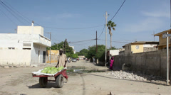 On the street. Senegal Stock Footage