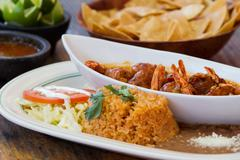 Mexican meal - stock photo