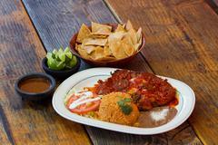 Mexican meal Stock Photos