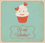 be my valentine - stock illustration