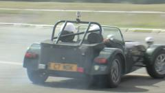 Caterham drifting Stock Footage