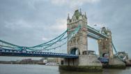 Stock Video Footage of Tower Bridge