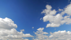 Clouds running time lapse Stock Footage