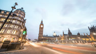 Stock Video Footage of Big Ben in London, England