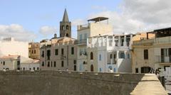 Sardinia, alghero Stock Footage