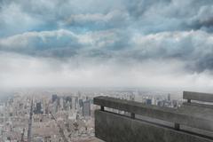 Stock Illustration of Gloomy city