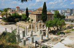 fethiye mosque roman forum - stock photo