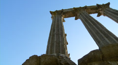 Roman temple #1 Stock Footage