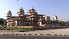 Albert Hall Museum, Jaipur Stock Footage
