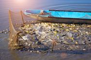 Stock Photo of Fishing net