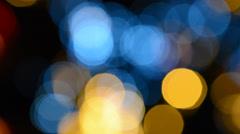 Bokeh Christmas Lights - stock footage