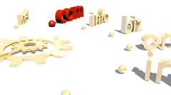 Domain extensions Stock Footage