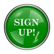 Sign up icon Stock Illustration