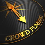 Crowd Funding Concept. - stock illustration