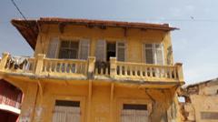 Senegal. On the street. - stock footage