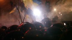 Strike in Ukraine - Revolution is continuing! Stock Footage