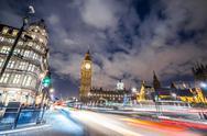 Stock Photo of Big Ben in London, England