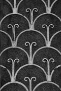 Vintage floral motif Stock Photos
