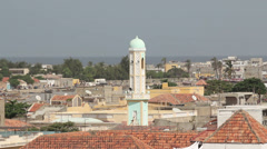 Senegal architecture. Stock Footage
