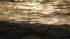 Sea textures. - stock footage