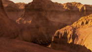 Stock Video Footage of (1300) Canyonlands Barren Alien Sci-Fi Planet Animation Loop