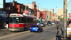 Chinatown Toronto Timelapse 3a (4K) Stock Footage