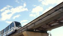 Moscow monorail Stock Footage
