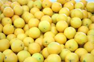 Stock Photo of Fresh Lemons
