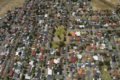 Stock Photo of aerials south australia suburbs
